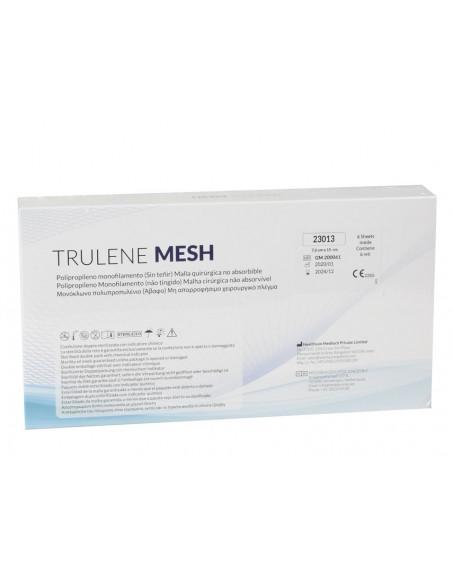 TRULENE NON ABSORBABLE MESH 7.6x15cm - blue