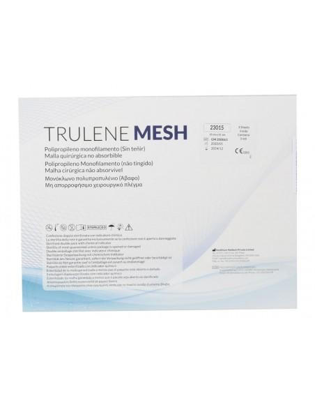 TRULENE NON ABSORBABLE MESH 15x15cm - blue