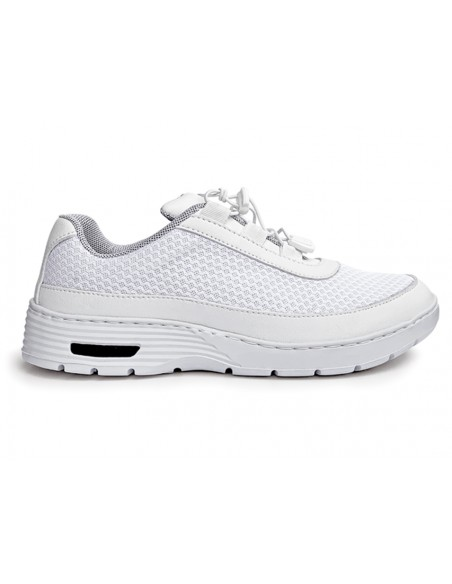 HF100 SNEAKERS PROFESSIONNELLES - 38 - lacets - blanches