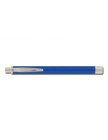 LAMPE STYLO ELEGANCE - métal - bleu