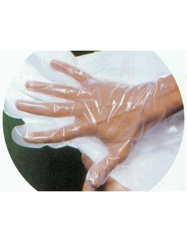 GANTS COPOLYMÈRE - sur papier - moyens - stériles