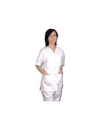 PANTALON - coton blanc - taille M