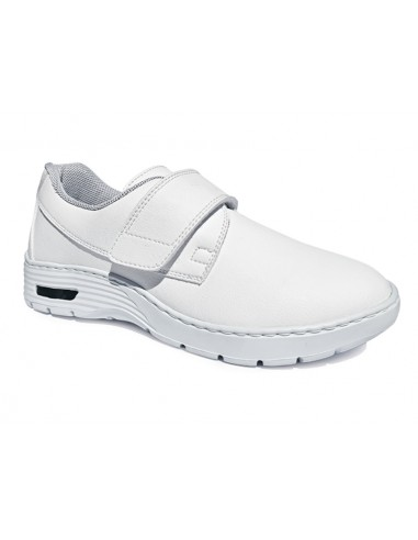 HF200 SNEAKERS PROFESSIONNELLES - 43 - bande velcro - blanches