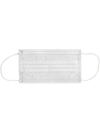 GISAFE 98% FILTERING SURGEON MASK 3 PLY type II with loops - adult - white - box