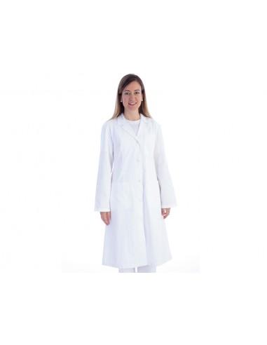 WHITE COAT - cotton/polyester - woman size M