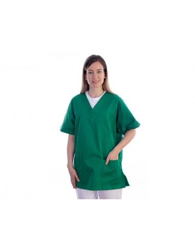 JACKET - cotton/polyester - unisex M green