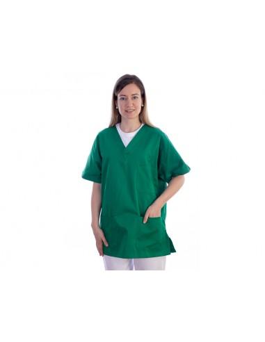 JACKET - cotton/polyester - unisex XXL green