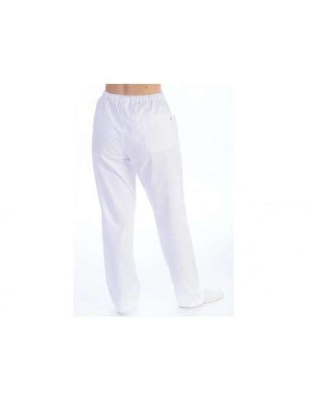PANTALONS - coton/polyester - unisexe XXXL blancs