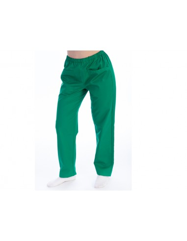 TROUSERS - cotton/polyester - unisex S green