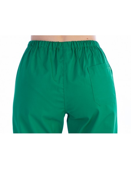 TROUSERS - cotton/polyester - unisex XXL green