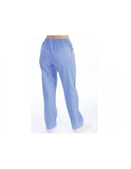 PANTALONI - cotone/poliestere - unisex - taglia XS azzurri