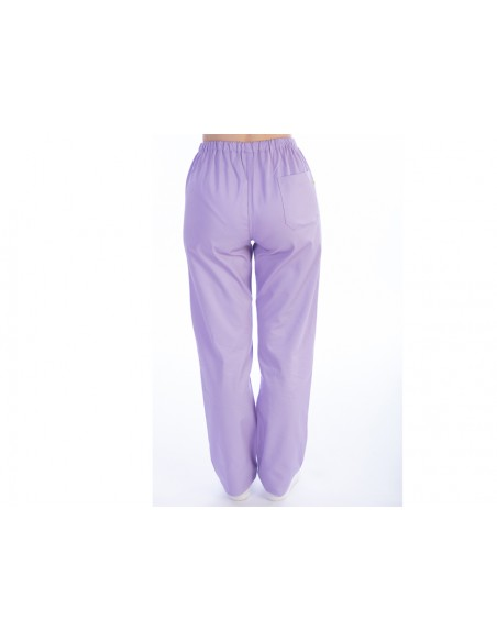 TROUSERS - cotton/polyester - unisex M violet