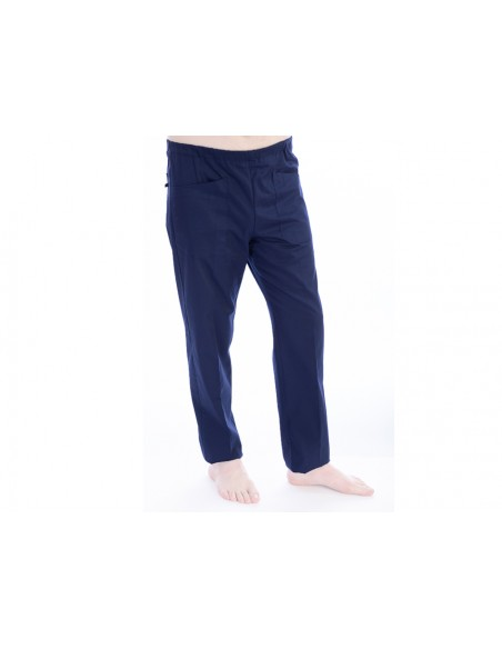 PANTALONS - coton/polyester - unisexe XS bleu marine