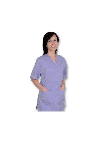 VESTE À BOUTONS PRESSION - coton/polyester - femme S violette