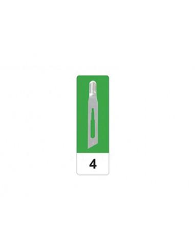 GIMA CARBON STEEL GOUGE BLADES N 4 - sterile
